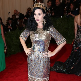 Katy Perry in PUNK: Chaos to Couture Costume Institute Gala