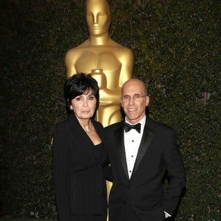 Marilyn Katzenberg, Jeffrey Katzenberg in The Academy of Motion Pictures Arts and Sciences' 4th Annual Governors Awards - Arrivals