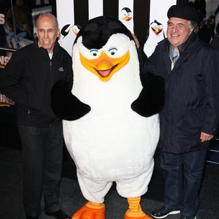 Jeffrey Katzenberg, Jim Gianopulos in New York Premiere of Penguins of Madagascar