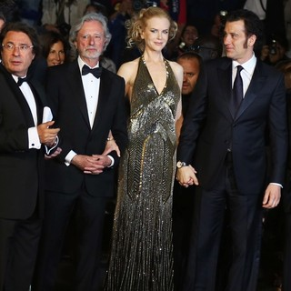 Philip Kaufman, Nicole Kidman, Clive Owen in Hemingway and Gellhorn Premiere - During The 65th Annual Cannes Film Festival
