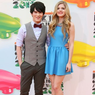 Brad Kavanagh, Ana Mulvoy Ten in 2012 Kids' Choice Awards - Arrivals