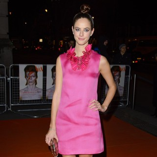 Kaya Scodelario in David Bowie Is Exhibition Gala Night