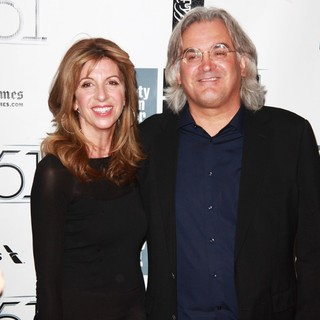 Joanna Kaye, Paul Greengrass in The 51st New York Film Festival - Captain Phillips World Premiere - Red Carpet Arrivals