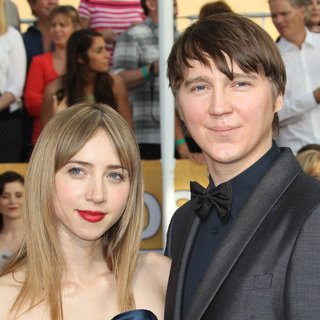Zoe Kazan, Paul Dano in The 20th Annual Screen Actors Guild Awards - Arrivals