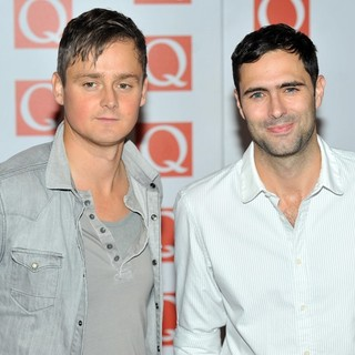 Keane in The Q Awards 2012 - Arrivals - keane-q-awards-2012-02