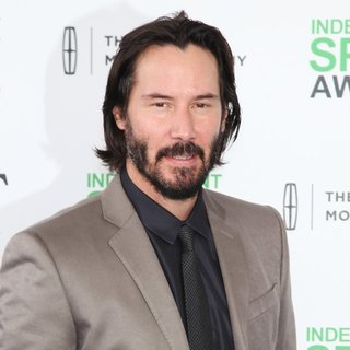 Keanu Reeves in The 2014 Film Independent Spirit Awards - Arrivals - keanu-reeves-2014-film-independent-spirit-awards-01