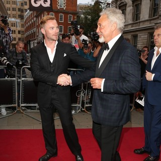 Ronan Keating, Tom Jones in The GQ Men of The Year Awards 2012 - Arrivals