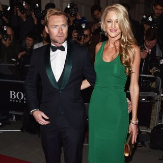 Ronan Keating, Storm Uechtritz in GQ Men of The Year Awards 2015 - Arrivals