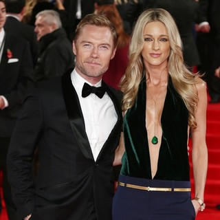 Ronan Keating, Storm Uechtritz in The World Premiere of Spectre - Arrivals