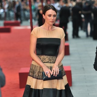 Keeley Hawes in The Premiere of Anna Karenina