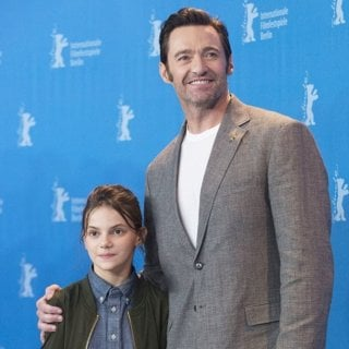 Dafne Keen, Hugh Jackman-67th International Berlin Film Festival - Logan - Photocall