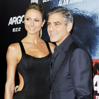 Stacy Keibler, George Clooney in Argo - Los Angeles Premiere