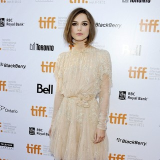 Keira Knightley in 36th Annual Toronto International Film Festival - A Dangerous Method - Premiere Arrivals