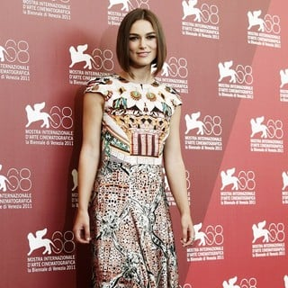 Keira Knightley in The 68th Venice Film Festival - Day 3 - A Dangerous Method Photocall