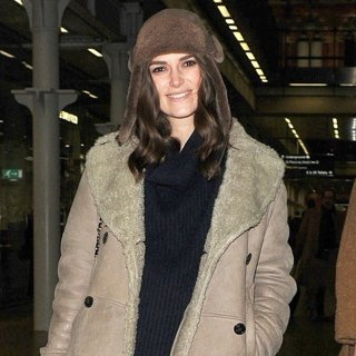 Keira Knightley Arrives at The Eurostar Terminal