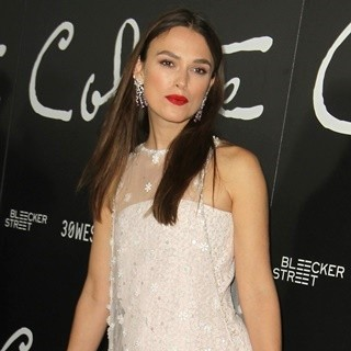 Keira Knightley in Colette Los Angeles Premiere