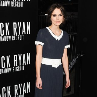 Keira Knightley in Los Angeles Premiere of Jack Ryan: Shadow Recruit - Red Carpet Arrivals