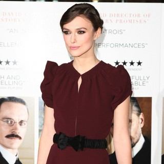 Keira Knightley in The Gala Premiere of A Dangerous Method