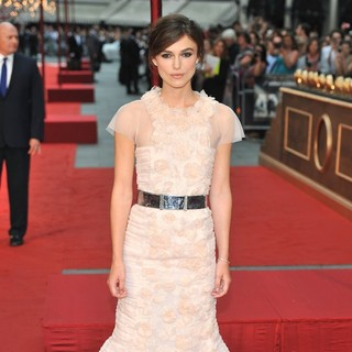 Keira Knightley in The Premiere of Anna Karenina
