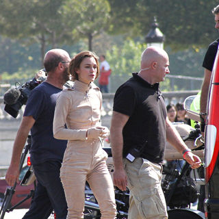 Keira Knightley - On The Set of A New Advert for Chanel
