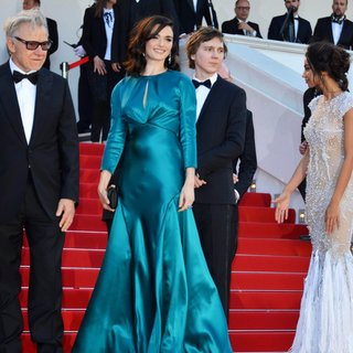 Harvey Keitel, Rachel Weisz, Paul Dano, Madalina Ghenea in 68th Annual Cannes Film Festival - Youth - Premiere