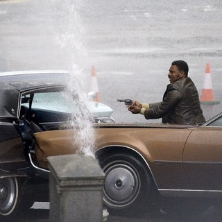 Keith David in On The Film set of Cloud Atlas Shooting on Location in Glasgow