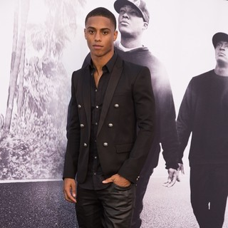 Keith Powers in World Premiere of Universal Pictures' Straight Outta Compton - Arrivals