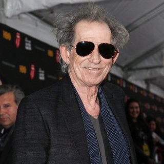 Keith Richards, The Rolling Stones in HBO Presents The Rolling Stones Crossfire Hurricane Premiere