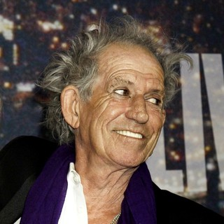 Keith Richards - Saturday Night Live 40th Anniversary Special - Red Carpet Arrivals