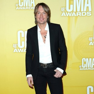 Keith Urban in 46th Annual CMA Awards
