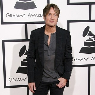 Keith Urban in The 56th Annual GRAMMY Awards - Arrivals