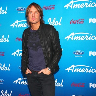 Keith Urban in FOX's American Idol Finalists Party