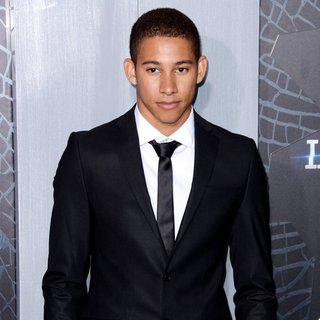 Keiynan Lonsdale in US Premiere of The Divergent Series: Insurgent - Red Carpet Arrivals