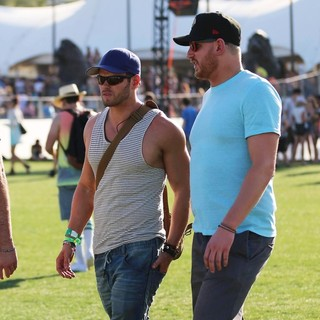 Kellan Lutz in The 2013 Coachella Valley Music and Arts Festival - Week 1 Day 1