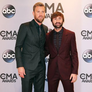 Lady Antebellum in 48th Annual CMA Awards - Red Carpet - kelley-haywood-48th-annual-cma-awards-01