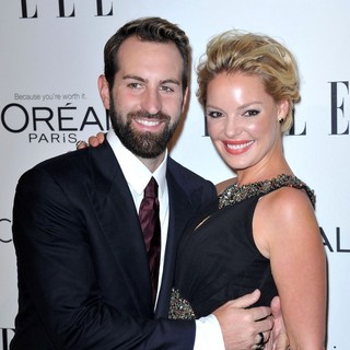 Josh Kelley, Katherine Heigl in ELLE's 18th Annual Women in Hollywood Tribute - Red Carpet