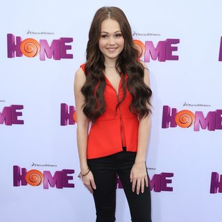 Kelli Berglund in Los Angeles Premiere of Home Presented by 20th Century Fox and DreamWorks Animation