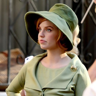 Kelli Garner in ABC's New TV Show Pan Am Shooting on Location