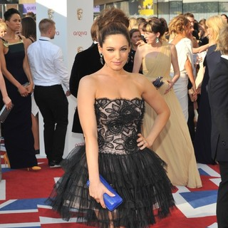 Kelly Brook in The 2012 Arqiva British Academy Television Awards - Arrivals