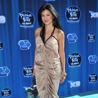 Kelly Hu in Hollywood Premiere of The Disney Channel Original Movie Phineas and Ferb Across the Second Dimension
