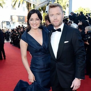 Laura Michelle Kelly, Ronan Keating in Killing Them Softly Premiere - During The 65th Cannes Film Festival