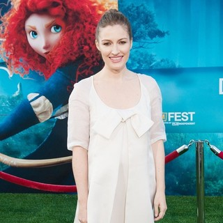 Kelly Macdonald in 2012 Los Angeles Film Festival of Disney Pixar's Brave