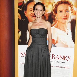 Kelly Marcel in Saving Mr. Banks Los Angeles Premiere