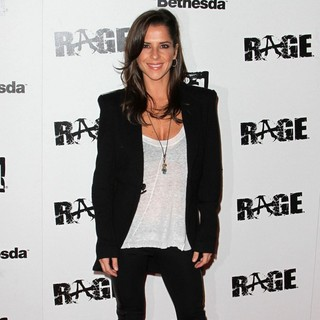 Kelly Monaco in Official Launch Party for The Most Anticipated Video Game of The Year Rage