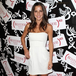 Kelly Monaco in RED Brings The Box to LA Celebration Launch Party