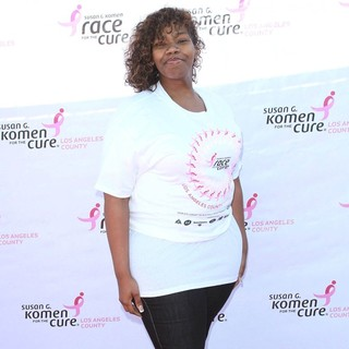 Kelly Price in Susan G. Komen's 15th Annual LA County Race for The Cure