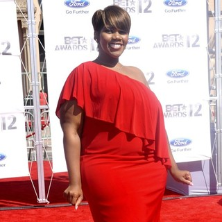 Kelly Price in The BET Awards 2012 - Arrivals - kelly-price-bet-awards-2012-02