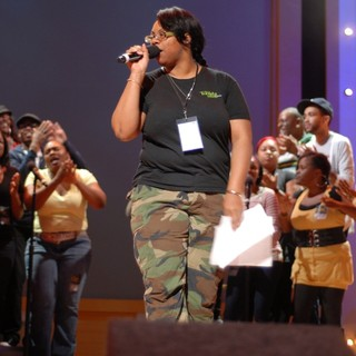 Kelly Price in BET Celebration of Gospel Rehearsals - kelly-price-bet-celebration-of-gospel-rehearsals-02