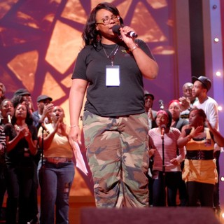 Kelly Price in BET Celebration of Gospel Rehearsals - kelly-price-bet-celebration-of-gospel-rehearsals-03