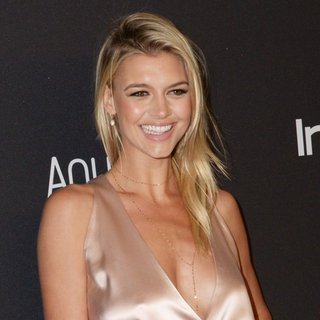 Kelly Rohrbach in InStyle and Warner Bros 73rd Annual Golden Globes Post-Party